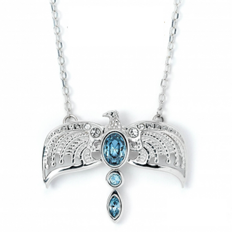 Harry Potter Sterling Silver Diadem Necklace Embellished with Swarovski Crystals | Happy Piranha