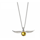 Harry Potter Sterling Silver Golden Snitch with Swarovski Crystals | Happy Piranha