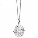 Harry Potter Time Turner Necklace Embellished with Swarovski Crystals hanging
