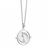 Harry Potter Time Turner Necklace Embellished with Swarovski Crystals Stirling silver
