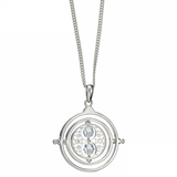 Harry Potter Time Turner Necklace Embellished with Swarovski Crystals | Happy Piranha