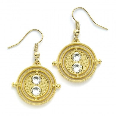 Harry Potter Time Turner Fixed Earrings | Happy Piranha