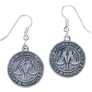 Harry Potter Ministry of Magic Symbol Earrings | Happy Piranha