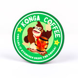 Nintendo donkey kong inspired coaster by Happy Piranha