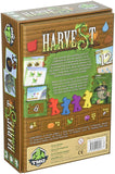 Harvest Board Game back of box | Happy Piranha