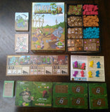 Harvest Board Game some of the box contents