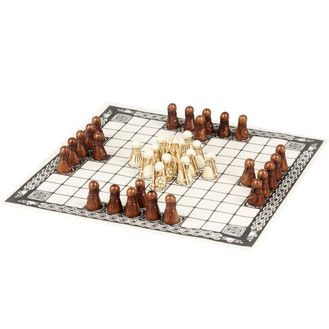 Hnefatafl: The Viking Board Game Gameplay Setup | Happy Piranha