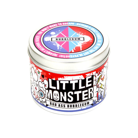 Little Monster bad ass bubblegum scented candle.