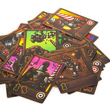 Jungle Joust Board Game card designs | Happy Piranha