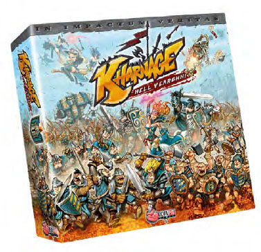Kharnage Hell Yearghh Board Game (Core Box) | Happy Piranha