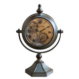 Free Standing Captain Cook's Mechanical Table Clock | Happy Piranha
