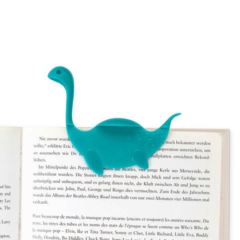 Nessie Tale - Loch Ness Monster Bookmark on a book