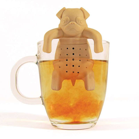 Pug in a mug loose leaf tea infuser | Happy Piranha