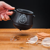 Harry Potter Cauldron Mug on a Table | Happy Piranha