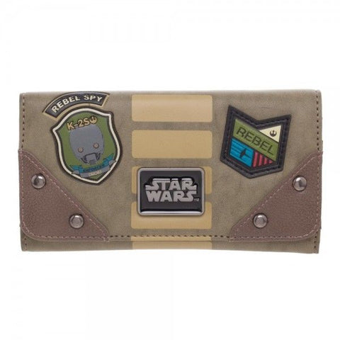 Star Wars Rogue One Rebel Alliance Flap Wallet | Happy Piranha