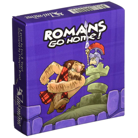 Romans Go Home! Card Game | Happy Piranha