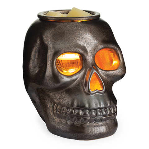 Skull shaped Illumination Wax Melt Warmer | Happy Piranha