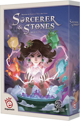 Sorcerer and Stones Board Game | Happy Piranha