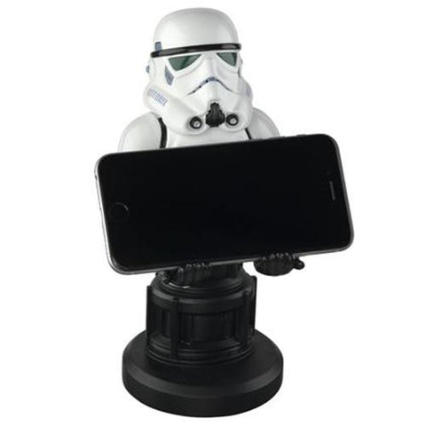 Star Wars Stormtrooper Cable Guy Phone and Controller Holder | Happy Piranha