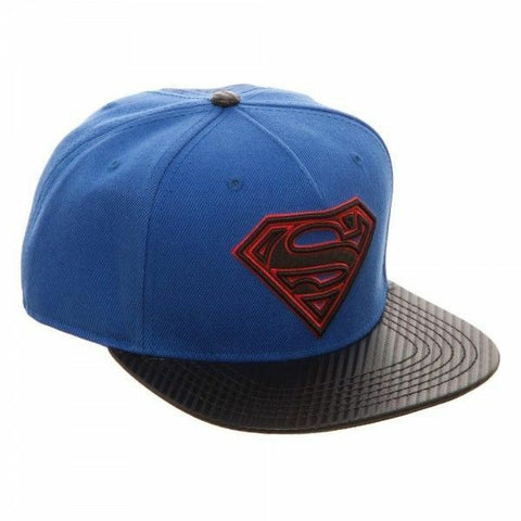 Superman DC Comics Snapback Baseball Cap | Happy Piranha