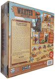 Wanted: Rich or Dead board game back of box | Happy Piranha