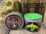 Westerosi Wildfire: A Peppermint & Lemongrass Scented Candle