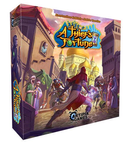 A Thief's Fortune Board Game | Happy Piranha