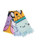 Adventure Time Characters Scarf | Happy Piranha
