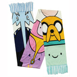 Adventure Time Characters Scarf