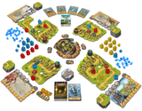 Age of Towers: A Tower Defence Board Game game play setup