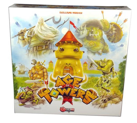 Age of Towers: A Tower Defence Board Game | Happy Piranha