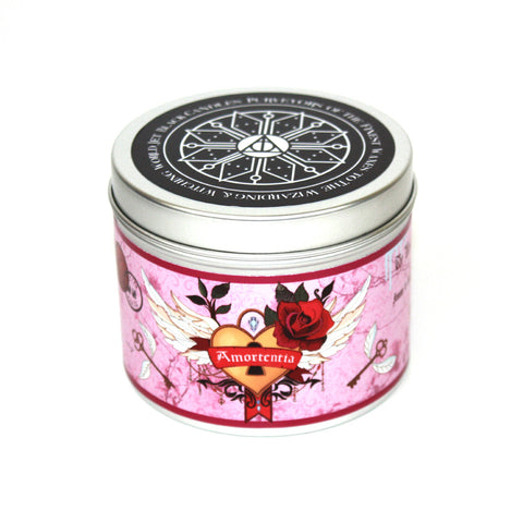 Amortentia Harry Potter inspired scented candle by Happy Piranha