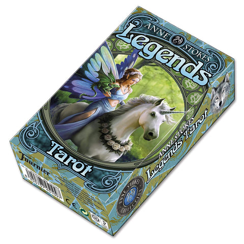Anne Stokes Legends Tarot 78 Card Deck | Happy Piranha