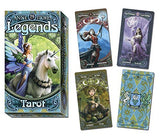 Anne Stokes Legends Tarot 78 Card Deck Box and Card Examples | Happy Piranha