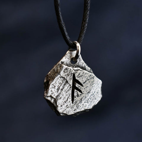 Viking Rune Pewter Pendant (24 Designs/Meanings)