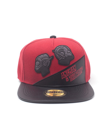Ant-Man & The Wasp Rubber Patch Snapback Cap | Happy Piranha