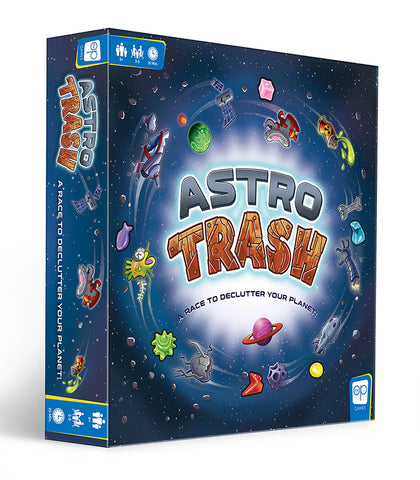 Astro Trash Board Game | Happy Piranha