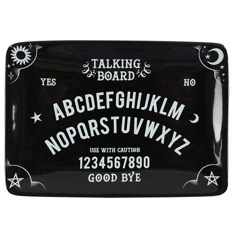 Black Ouija Talking Spirit Board Trinket Dish | Happy Piranha