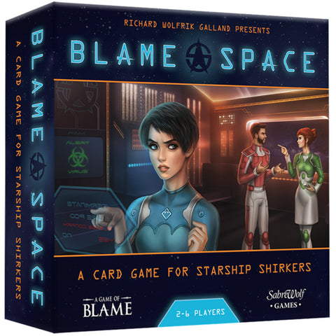 Blame Space Board Game | Happy Piranha