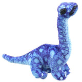 Blue Brontosaurus Dinosaur Finger Puppet | Happy Piranha