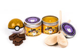Some Brocks brownies pokemon scented candles by Happy Piranha