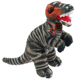 Brown T-Rex Dinosaur Finger Puppet | Happy Piranha