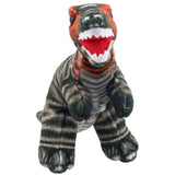 Brown T-Rex Dinosaur Finger Puppet Front View | Happy Piranha