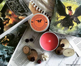 Camp Halfblood percy jackson inspired scented candle from happy piranha.