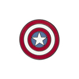 Marvel Captain America's Shield Pin Badge | Happy Piranha