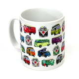 VW Camper Van Mug - Happy Piranha Gifts