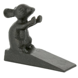 Standing Mouse Cast Iron Doorstop | Happy Piranha