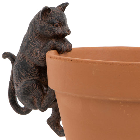 Large Cat Flower Pot Hanger | Happy Piranha