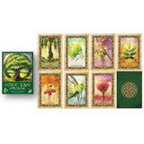 Celtic Tree Oracle Card Set Box and Cards | Happy Piranha