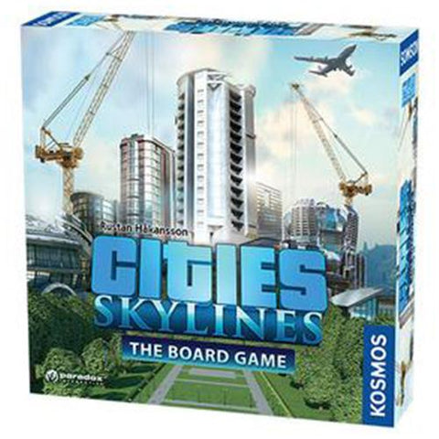 Cities Skyline Board Game | Happy Piranha